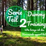 Serie Dummy Training Teil 2- Wie bringe ich das Kommando apport bei?