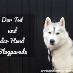 Der Tot und der Hund- Blogparade