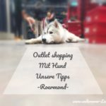 Outlet Shopping mit Hund -Unsere Tipps- Roermond